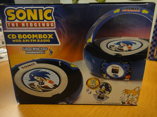 Sonic the Hedgehog Boombox