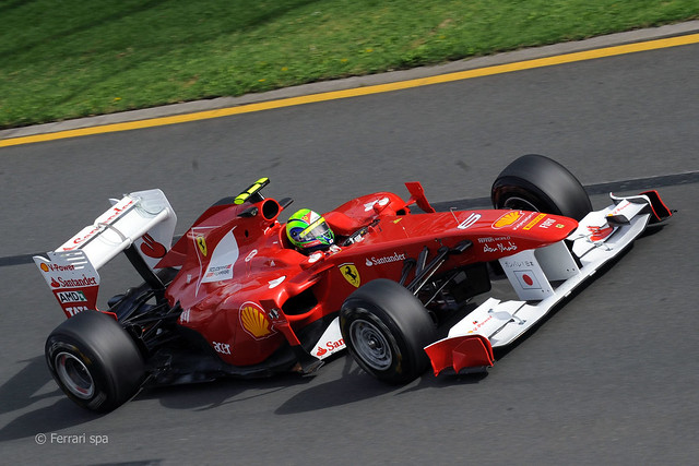 Felipe Massa Ferrari F1 Melbourne 24/03/2011 1
