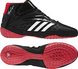 adidas Vaporspeed III wrestling shoes Black Red