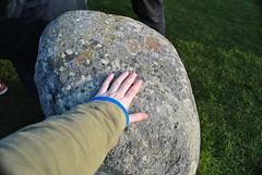 Me Touching Stonehenge (Yazmin Williams) Tags: avebury bronzeage bluestone neolithic sarson prehistoricmonument welshsandstone stonehengeworldheritagesite