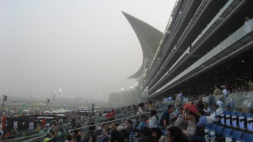Sandstorm at Meydan