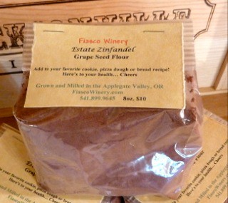 Jacksonville grapeseed flour