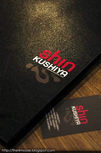 Shin Kushiya - Menu
