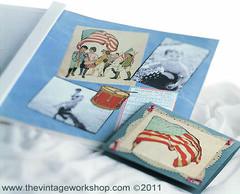 Patriotic Scrapbook Pag