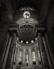 St Paul Cathedral - 4x5 HP5+ (Zach Boumeester) Tags: white black film church monochrome saint minnesota st architecture analog paul stand hp arch tank angle graphic cathedral scanner grain wide large arches semi 150 special iso mc 400 epson 4x5 hp5 crown format asa rodinal toned ilford perfection iin graflex 5x4 75mm pacemaker rodenstock 4990 semistand figital r09 caltar grandagon f68 combiplan