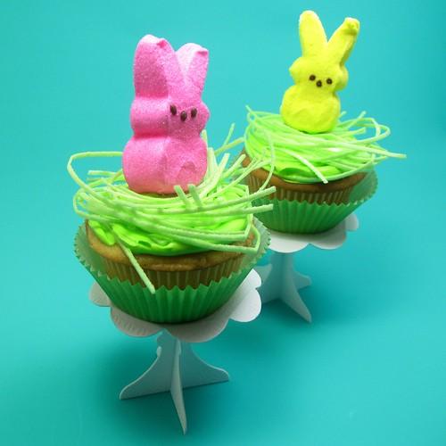 Peeps cupcakes 3