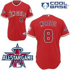 Los Angeles Angels of Anaheim #8 Kendry Morale Red Cool Base 2010 All Star Patch Jersey (Terasa2008) Tags: jersey losangelesangels  cheapjerseyswholesale cheapmlbjerseys mlbjerseysfromchina mlbjerseysforsale cheaplosangelesangelsjerseys
