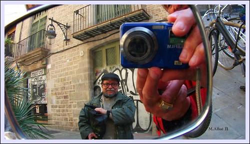 Retrovisor by Miguel Allué Aguilar