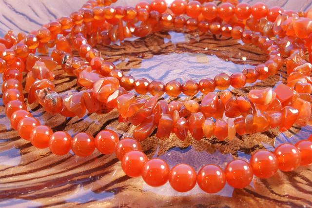 Beads-Carnelian