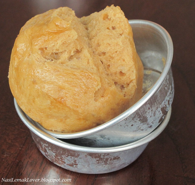 Brown Sugar Huat Kueh (steamed brown sugar Chinese cake)