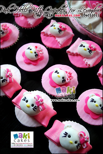 Pink Hello Kitty Cupcake for Lexandra - Maki Cakes