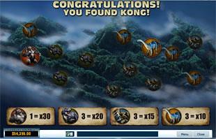 free King Kong slot bonus game 2