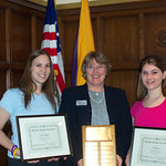 2005 recipients, Kelly Griffin and Erin Riley -