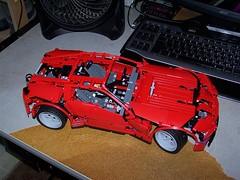 Modified 8070 Supercar (Seluryar) Tags: lego technic modified supercar 8070
