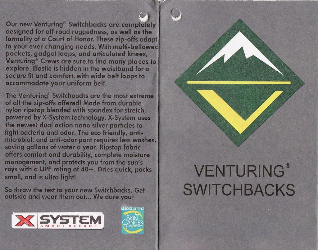 Venturing Switchbacks