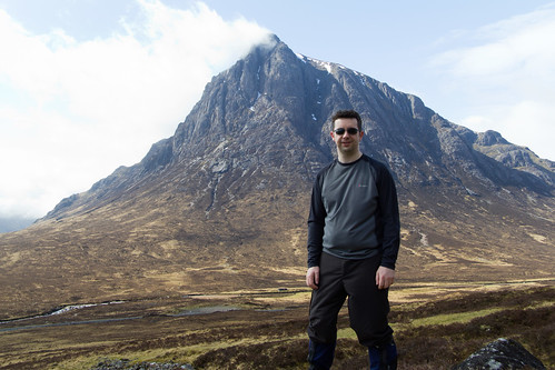 Ian at Buachaille Etiv Mor