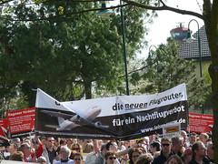 Demo: Gegen die neuen Flugrouten