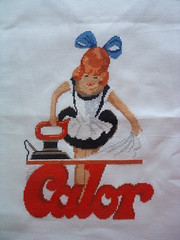Calor (K-lonig) Tags: crossstitch handmade embroidery pointdecroix ironing calor broderie faitmain