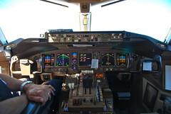 Boeing 777 cockpit inflight (Flyerist) Tags: inflight cockpit boeing 777