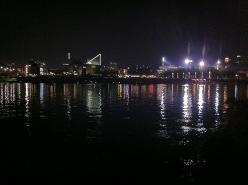 Chattanooga City Lights On The River