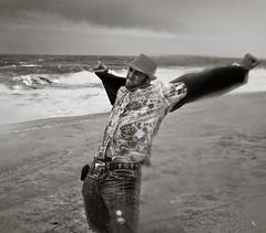 discombobulation (pimpdisclosure) Tags: ocean beach water rain newjersey sand hero capemay pimp atlanticocean pimpexposure part64 thepimpchronicles pimpdisclosure thisshotwastakenabout2yearsagoonmyvisitbacktonewjersey