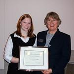 2004 recipient, Sara Pieklik -
