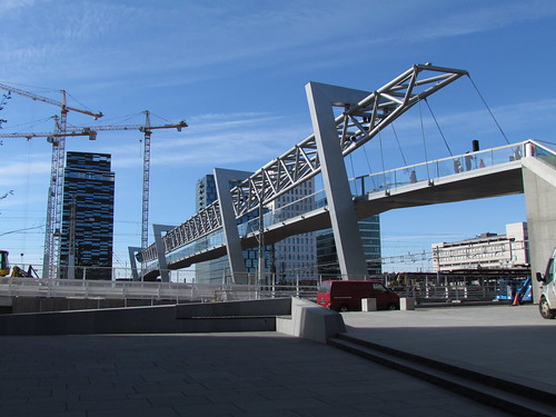 New footbridge Grønland-Bjørvika