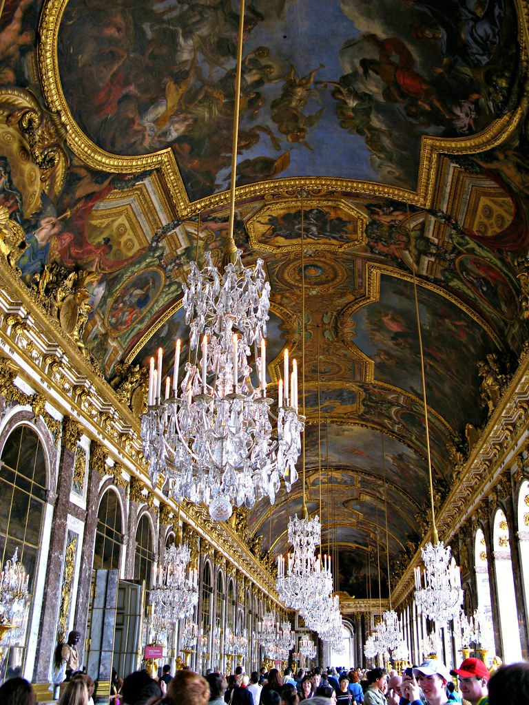 The Hall of Mirrors, Palace of Versailles, France