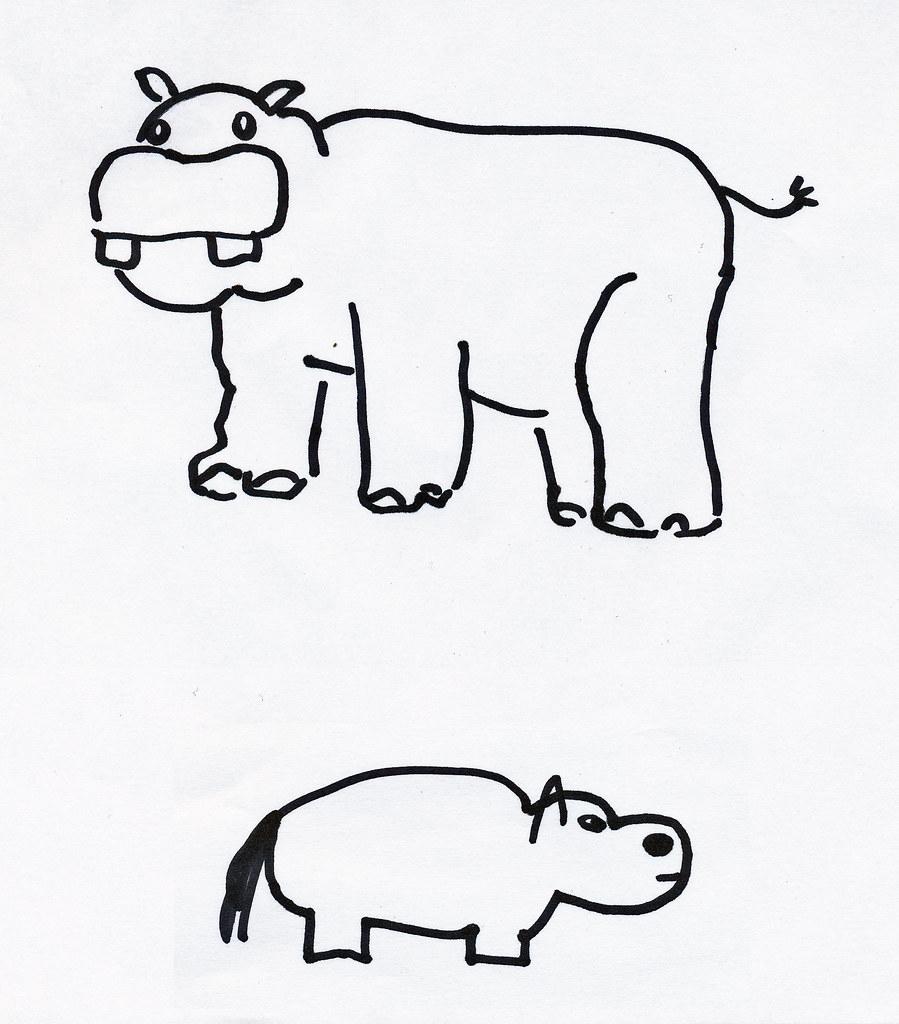Nadja Hippo vs benjamin Hippo