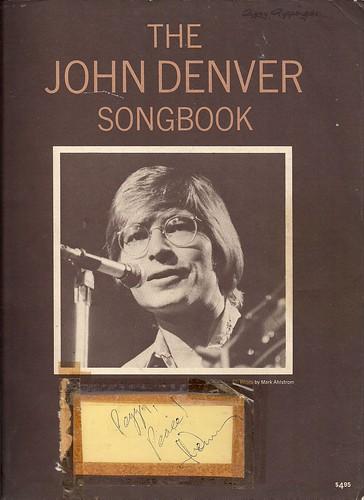 1971 John Denver Songbook (Autographed)