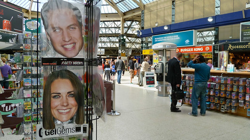 Royal Wedding, seen from a Railway Station | Flickr - Photo Sharing!