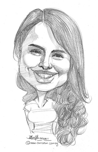 caricature in pencil - 54