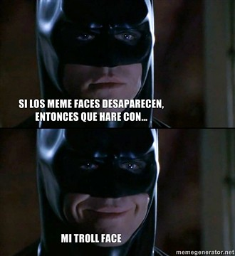 batman troll face
