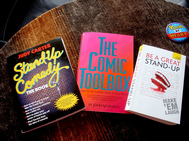 Books about Humour and Stand-Up Comedy