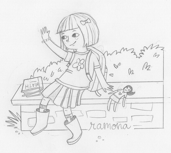 ramona quimby coloring pages - photo#6