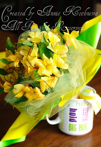 Yellow bouquet01