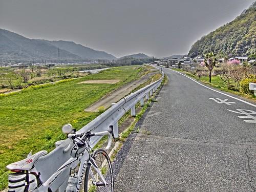 小田川沿い