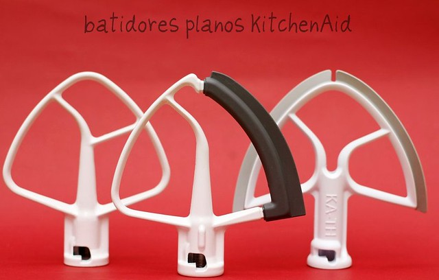 Batidores planos KitchenAid