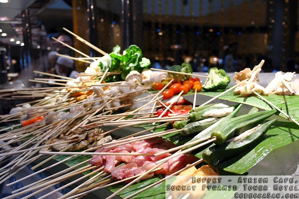 Buffet at Atrium, Sunway Pyramid Tower Hotel-47