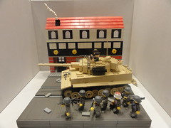 brickmania Tiger I (BeLgIuM ww2 bUiLdeR) Tags: world 2 war gun lego creation ii jeffrey ww own mille moc brickarms brickmania