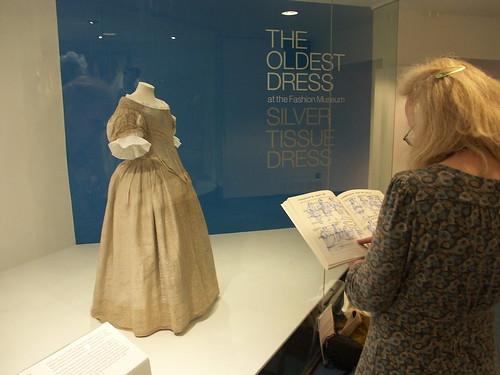 Silver Tissue Dress