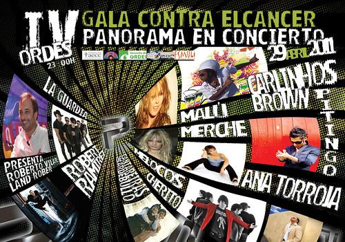 Orquesta Panorama 2011 - IV Gala contra o cancro - cartel
