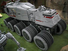 """Clone Turbo Tank (Tommy Poulsen) Tags: lego turbo clones billund legoland """"star """"clone tank"""" wars"""""""