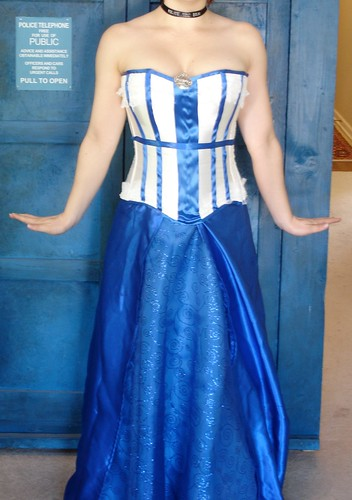 My TARDIS Costume Dress - Iteration 1.0