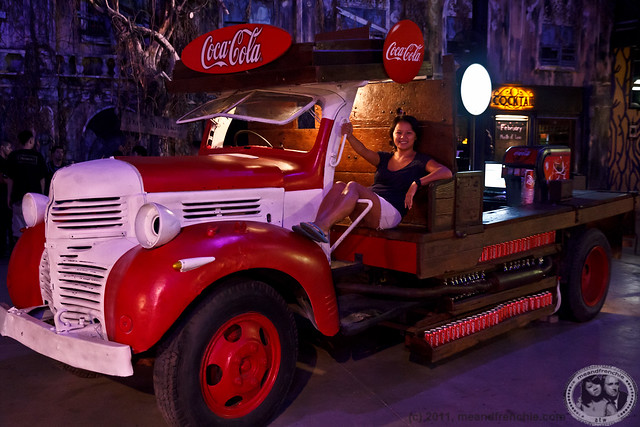 Pin-up In A Coca-Cola Truck