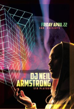 4/22 - Fri - Back up to SF @ Som Bar w King Most, D2S and Fran Boogie...