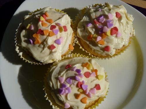 Osterliche Eierlikör Cupcakes