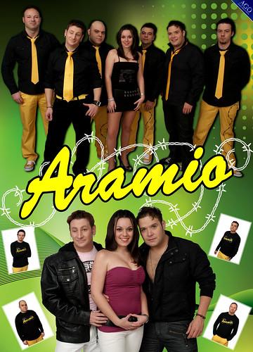 Aramio 2011 - grupo - cartel