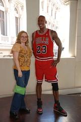 Sue With Michael Jordan