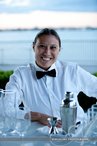 ica-wedding-boston-ma-waterfront-details-wolfgang puck bartender in the cafe